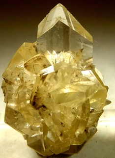 yellow Gypsum stone