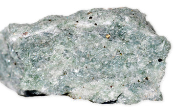 Diopside-pyrite stone